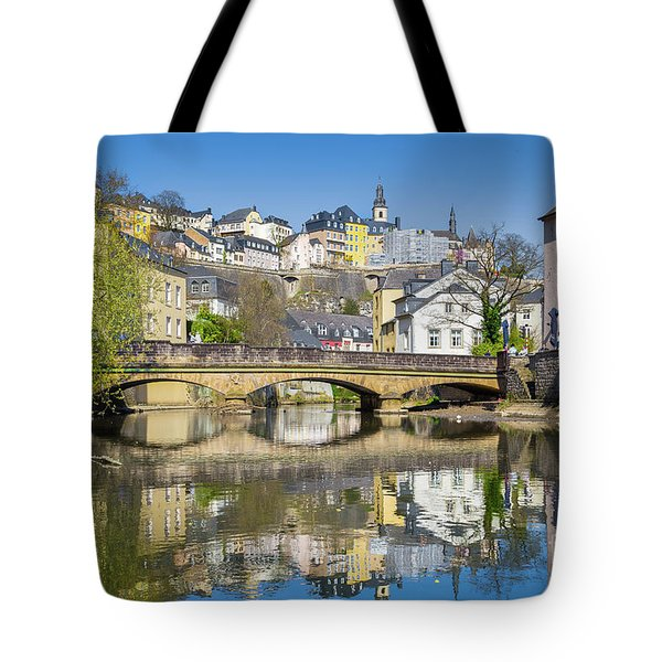 Luxembourg City Tote Bag by JR Photography