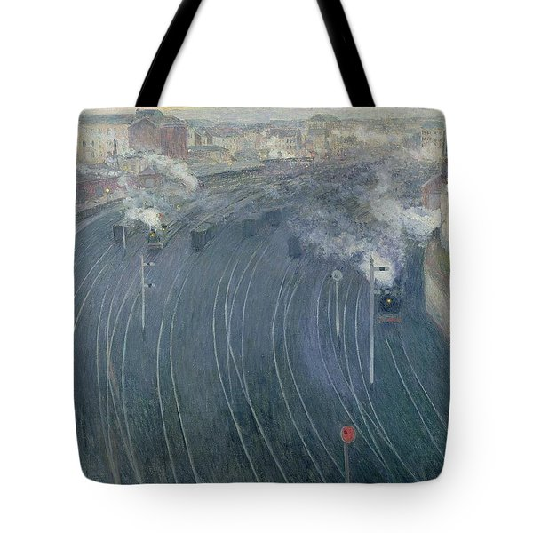 Luxembourg Station Tote Bag by Henri Ottmann