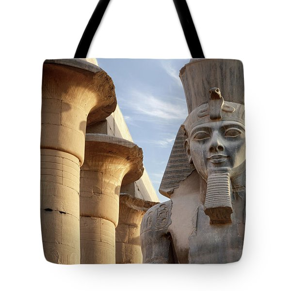 Tote Bag featuring the photograph Luxor by Silvia Bruno