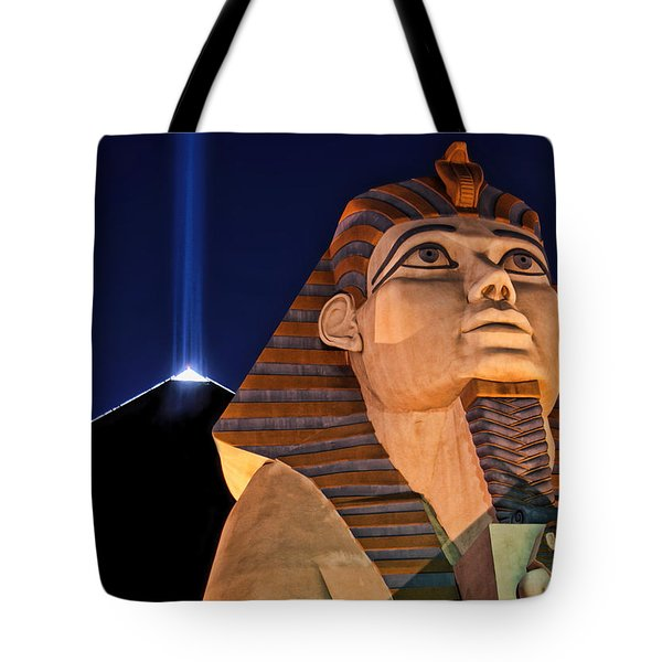 Tote Bag featuring the photograph Luxor by Tammy Espino