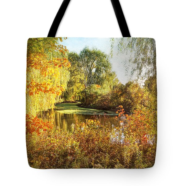 Luxurious Autumn Tote Bag