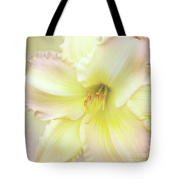 Tote Bag featuring the photograph Luxurious Lily by Kathi Mirto
