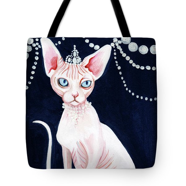 Luxurious Sphynx Tote Bag