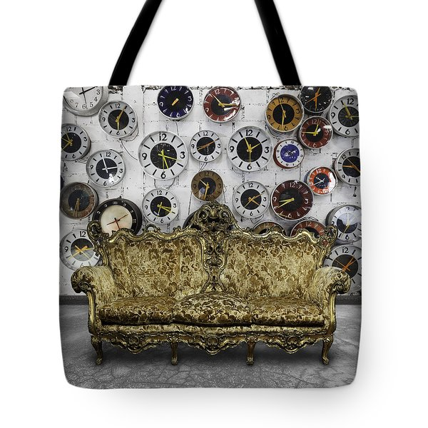 Luxury Sofa  In Retro Room Tote Bag
