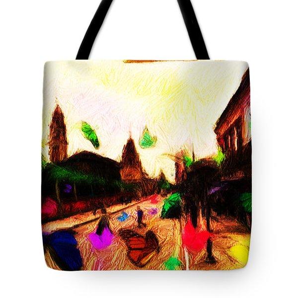 Luz Station Tote Bag