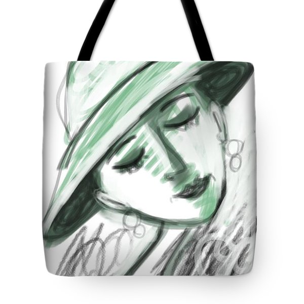 Lydia Tote Bag by Elaine Lanoue