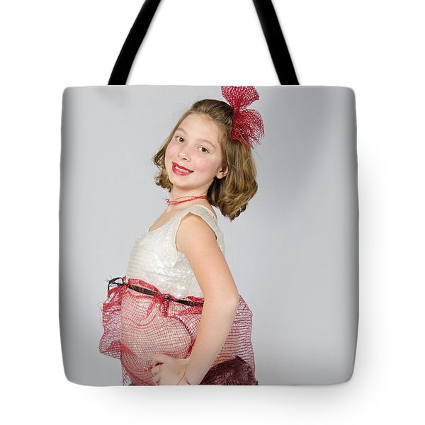 Lydia In Wraps Tote Bag