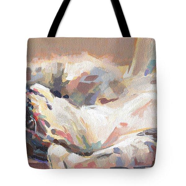 Lying In Wait Tote Bag