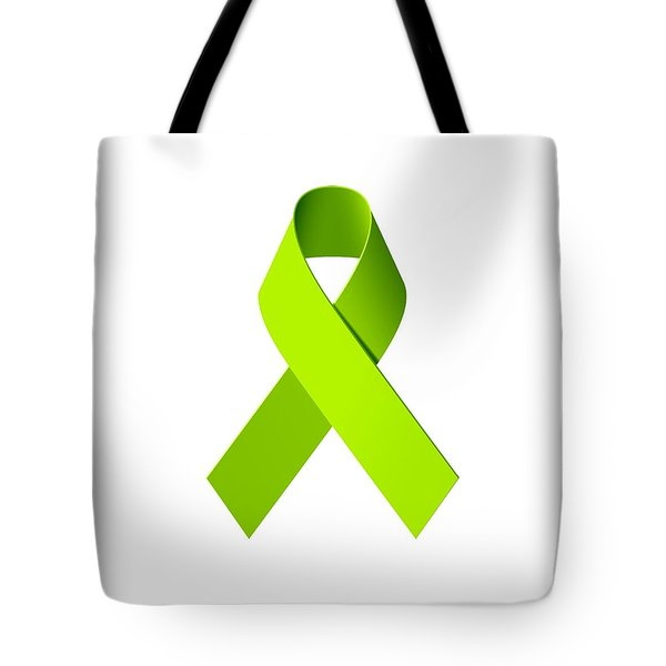 Lyme Disease Awareness Ribbon  Tote Bag