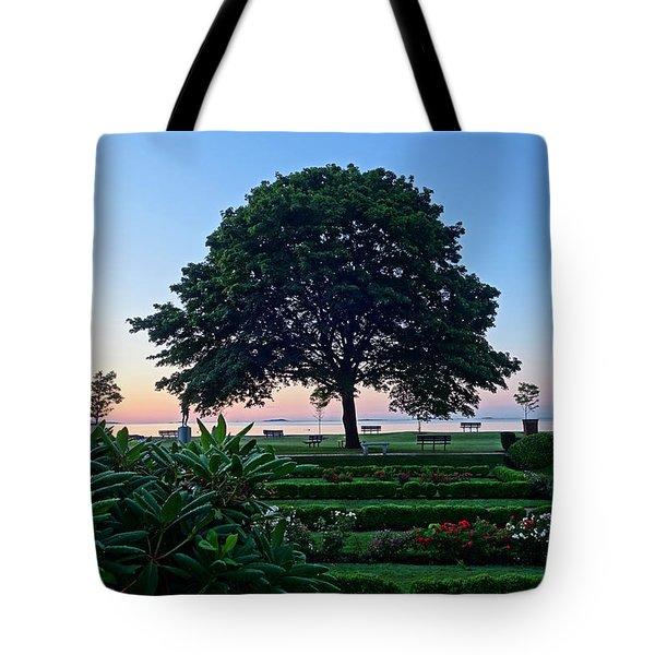 Lynch Park At Dawn Beverly Ma Tote Bag