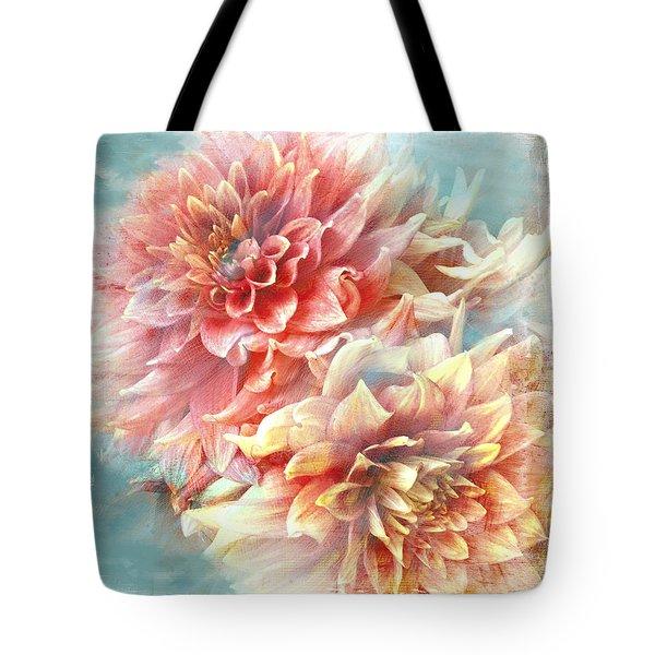 Lynia Dahlia Tote Bag