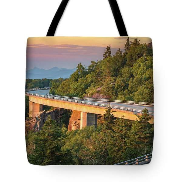 Lynn Cove Viaduct Tote Bag by Anthony Heflin