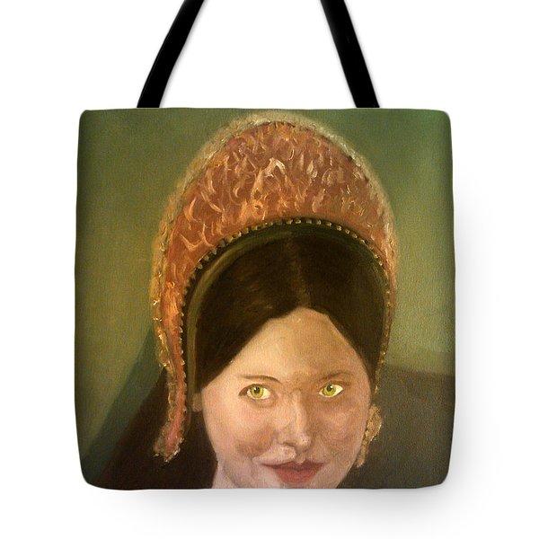 Lynne Frederick As Queen Katherine Howard Tote Bag