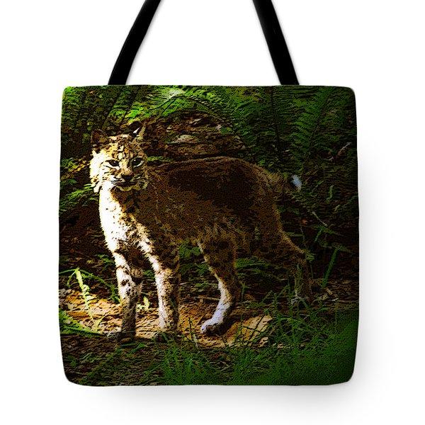 Lynx Rufus Tote Bag by David Lee Thompson
