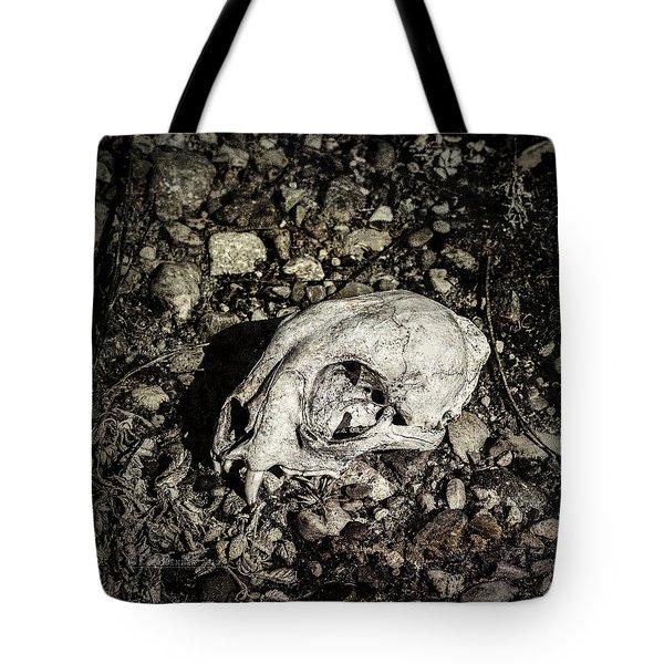 Lynx Skull Tote Bag
