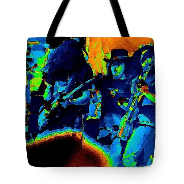 Tote Bag featuring the photograph L S Pastel Oakland 2 by Ben Upham
