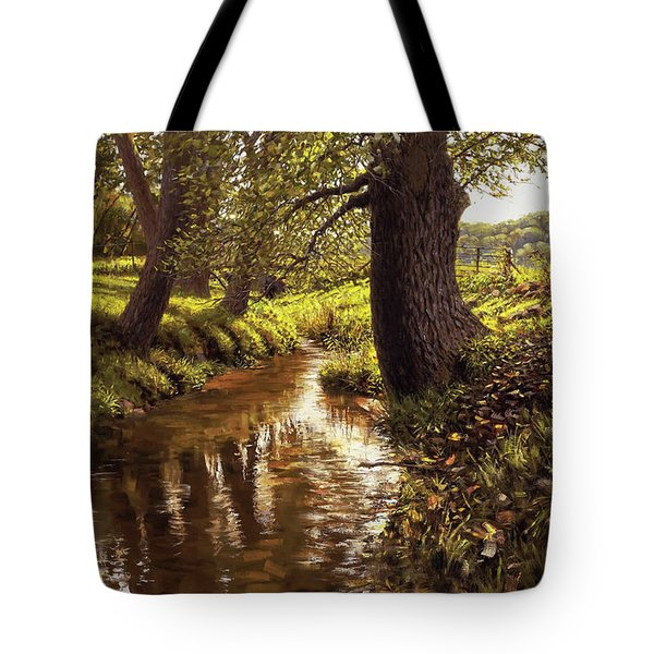 Lyon Valley Creek Tote Bag