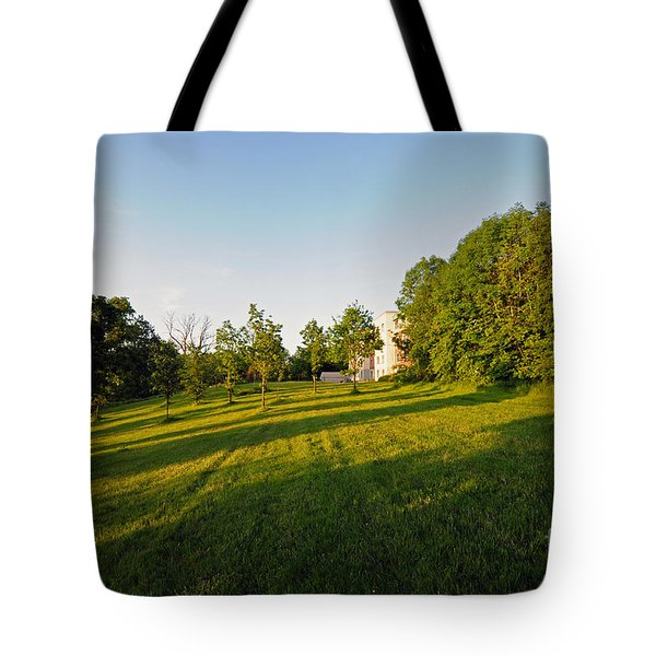 Lyrath Estate Hotel Grounds Tote Bag by Cindy Murphy - NightVisions
