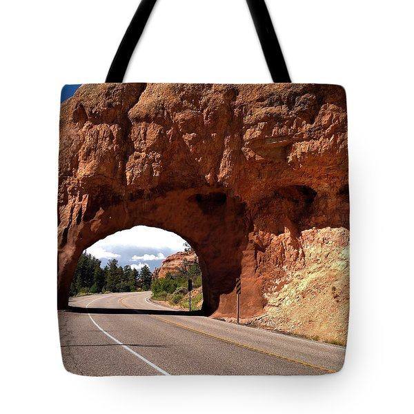 M-a-y-b-e We Should Just Turn Around Tote Bag