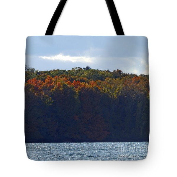 M Landscapes Fall Collection No. Lf50 Tote Bag