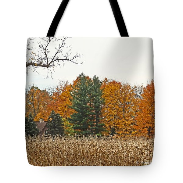 M Landscapes Fall Collection No. Lf60 Tote Bag