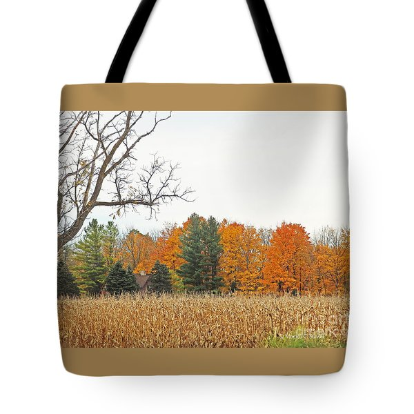 M Landscapes Fall Collection No. Lf61 Tote Bag
