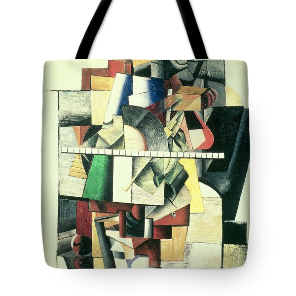 M Matuischin Tote Bag by Kazimir Severinovich Malevich