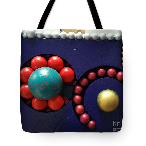 Tote Bag featuring the painting M O D A  Garden by James Lanigan Thompson MFA