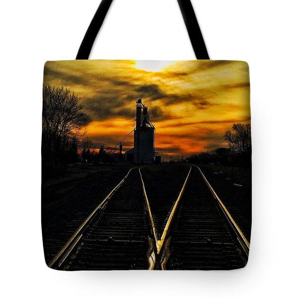 M Track Tote Bag