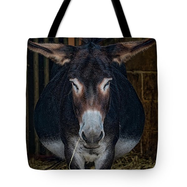 Tote Bag featuring the photograph M U L E  by Chris Lord