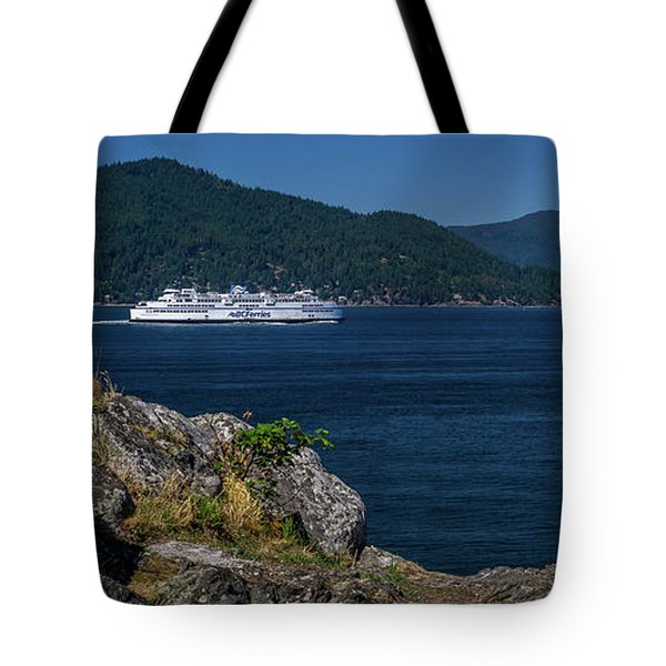M/v Queen Of Cowichan Tote Bag