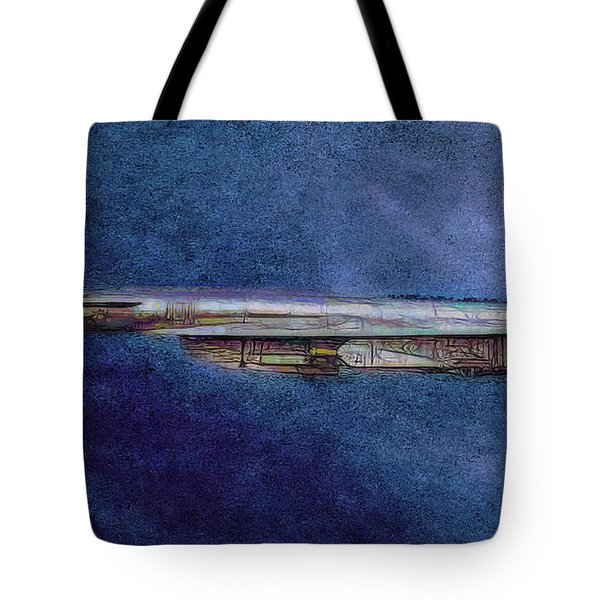 Tote Bag featuring the painting M50 Myasishchev  by Michael Cleere