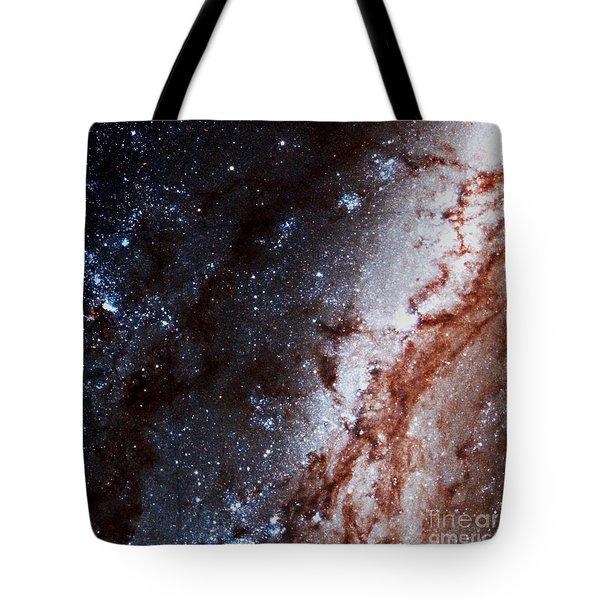 M51 Hubble Legacy Archive Tote Bag
