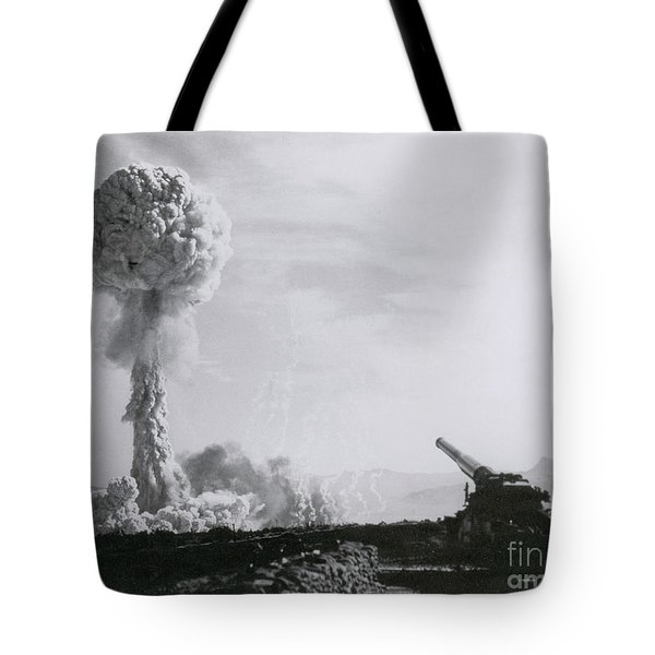M65 Atomic Cannon Tote Bag by Science Source