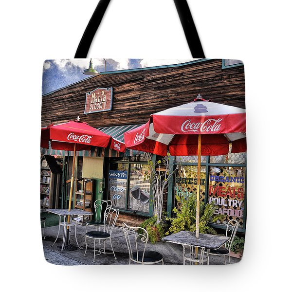 Ma And Pa Tote Bag by Bob Winberry