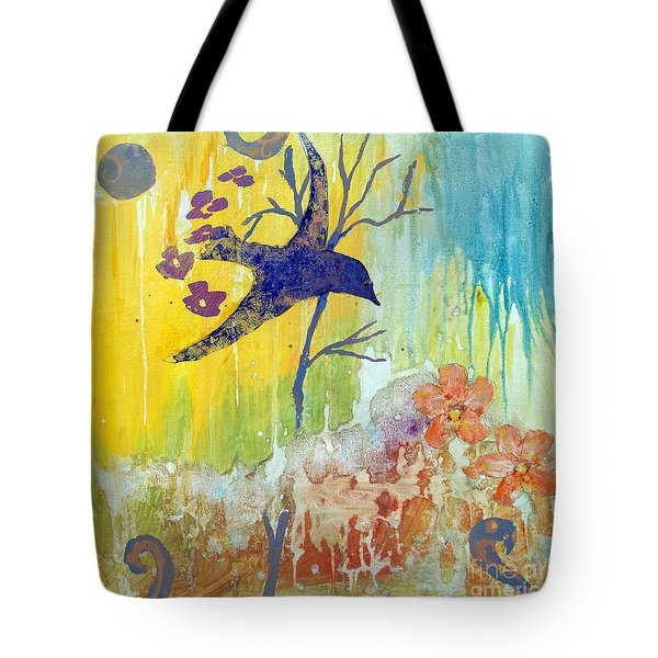 Ma Doh Bird Soars Tote Bag