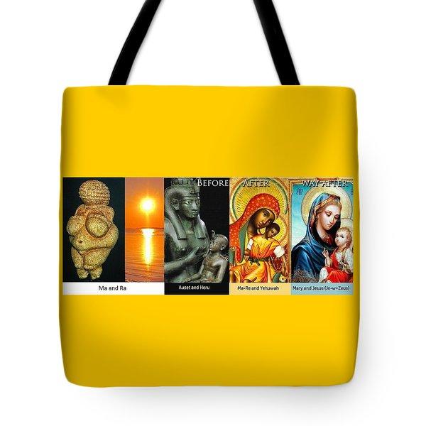Ma Ra Evolution Tote Bag