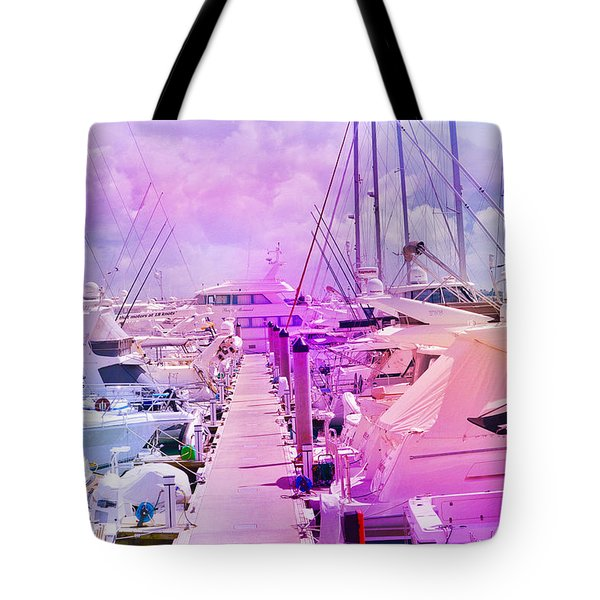 Marina In The Morning Glow Tote Bag