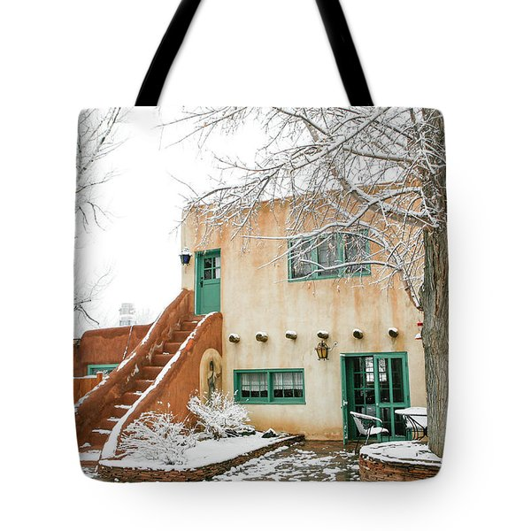 Tote Bag featuring the photograph Mabel Dodge House 2 by Marilyn Hunt