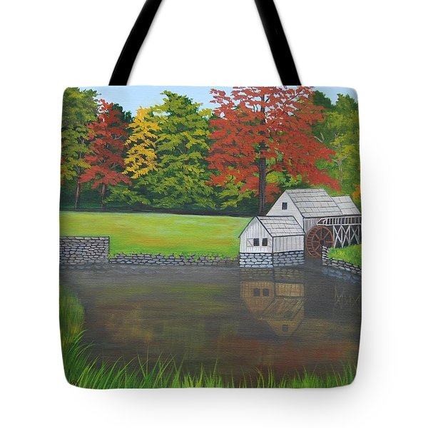 Mabry Grist Mill  Tote Bag by Ruth  Housley