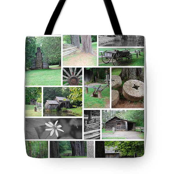 Tote Bag featuring the photograph Mabry Mill by Eric Liller