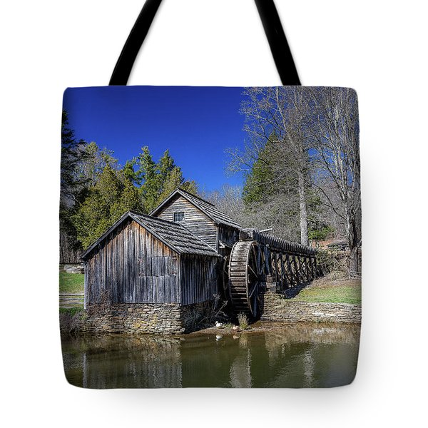 Mabry Mill Late Fall Tote Bag