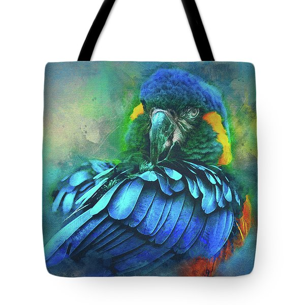 Macaw Magic Tote Bag