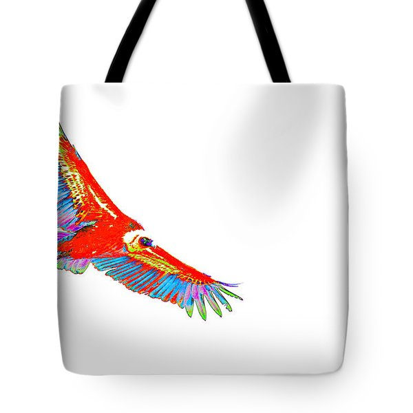 Macaw Vulture Tote Bag by Richard Patmore