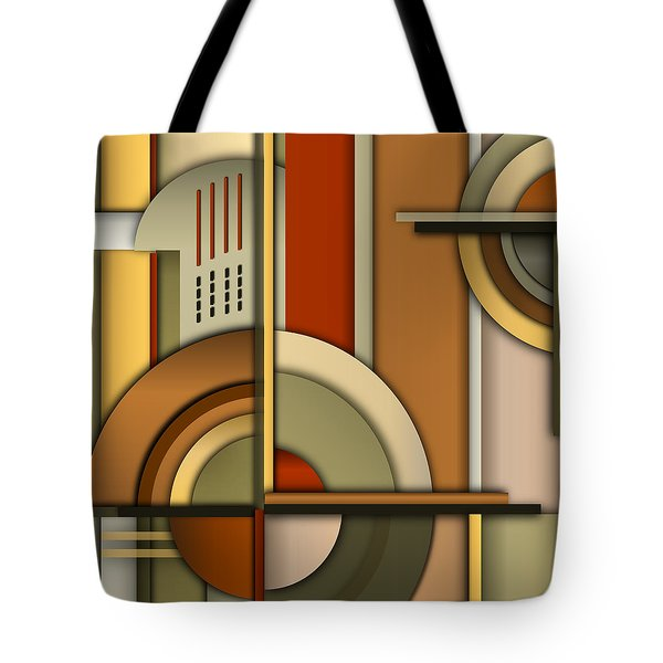 Machine Age Tote Bag by Tara Hutton