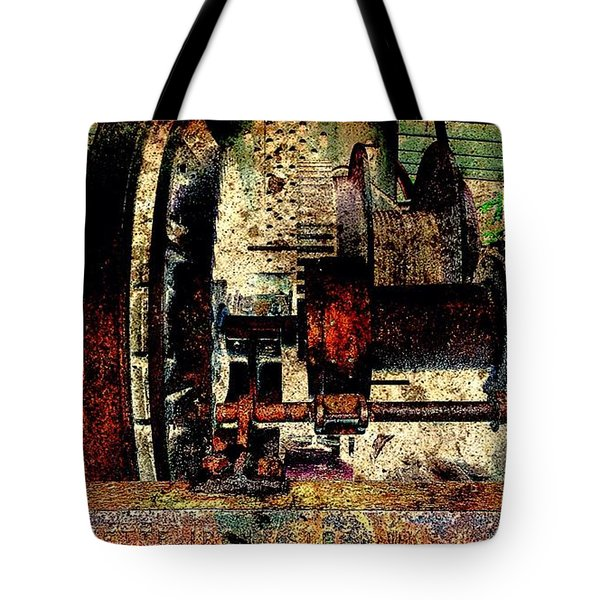 Machine Art Tote Bag