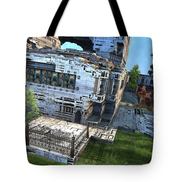 Machine Factory Tote Bag