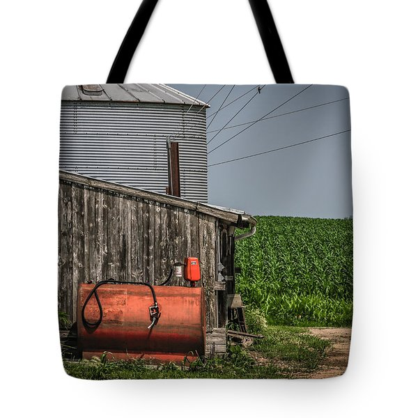 Machine Shed Tote Bag by Ray Congrove