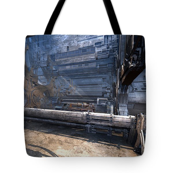 Machine Shop Tote Bag