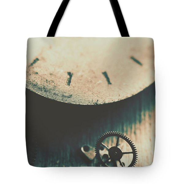 Machine Time Tote Bag